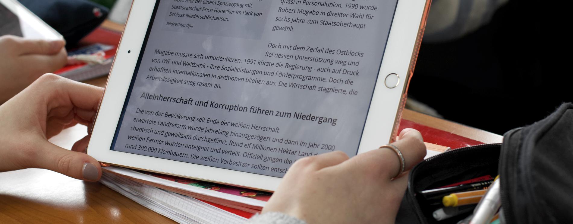 iPad-Klassen
