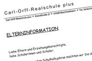Eltern- information (06.02.2019)