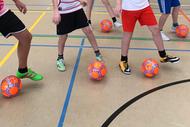 Kinderfußballtag an der COR+