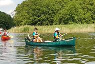Mit dem Kanu auf großer Fahrt